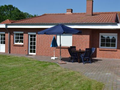 Photo for Ground-level apartment with large garden in Norddeich / Ostfriesland