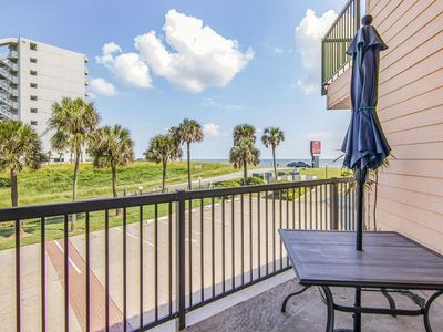 Photo for Ocean View From Balcony, Sleeps 6! New Owner New Updates & Decor, Smart TV, Free WiFi, King Bed