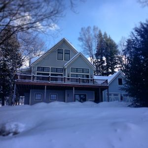 Photo for Stowe Dream House With Hot Tub, Wood Fireplace, Game Room And Mountain Views
