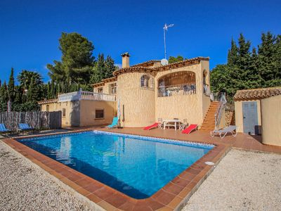 Photo for Desig - holiday home with private swimming pool in Moraira