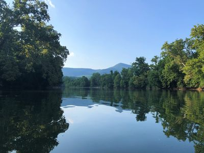 Photo for *NEW Listing* Riverfront Cabin  Near Hiking, Caverns & Skiing