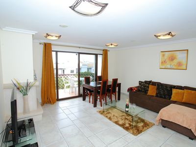 Photo for A Superb 2 Bedroom Holiday Apartment Excellent Location, Falesia Beach