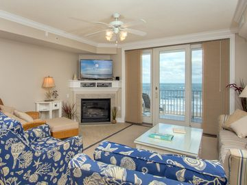 Enjoy spectacular views of the ocean and boardwalk in a professionally decorated, spacious unit with all the touches of home.