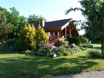 Photo for Charming cottage in the center of Alsace at Sundhouse 20m from the Canal du Rhône au Rhin