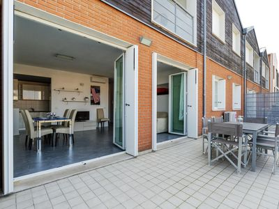 Photo for Zoe apartment in Ravenna with WiFi, integrated air conditioning, private parking, private roof terr…