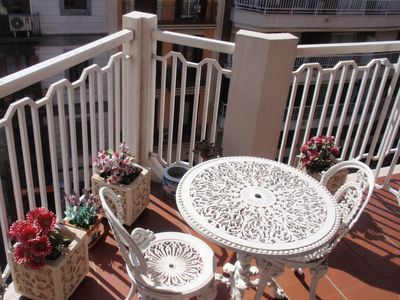 Photo for Barcelona center apartment with Wi-Fi 4 or 5 people.