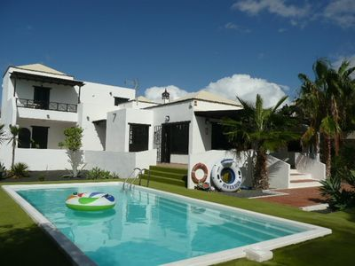 Photo for Villa Marcos - spacious, detached, private heated pool, WiFi, table tennis, pool table, sleeps 8