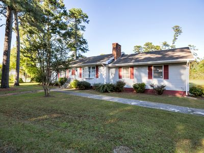 Happy Pines is a delightful Chincoteague Island Vacation Rental in a private, se