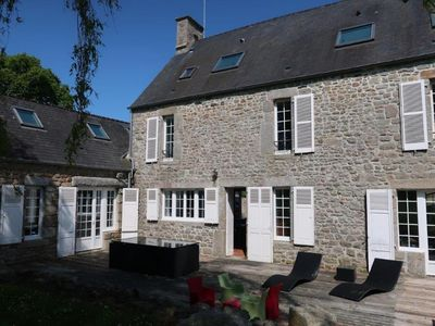 Photo for LARGE HOUSE IN GRANITE OF 316 M2 ST VAAST THE HOUGUE AREA DEBARQUEMENT