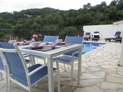 Photo for MODERN HOUSE WITH PRIVATE POOL AND FANTASTIC VIEWS ref MOLI-14
