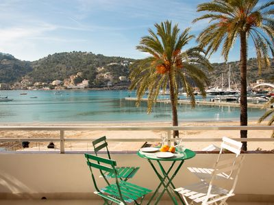 Photo for New! Vistamar - Apartment in front of the sea in the Port of Sóller