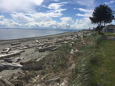 Photo for Spectacular Water-Front Beach House In Point Roberts Marina Neighborhood