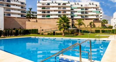 Photo for Apartment - 2 Bedrooms with Pool, WiFi and Sea views - 107889