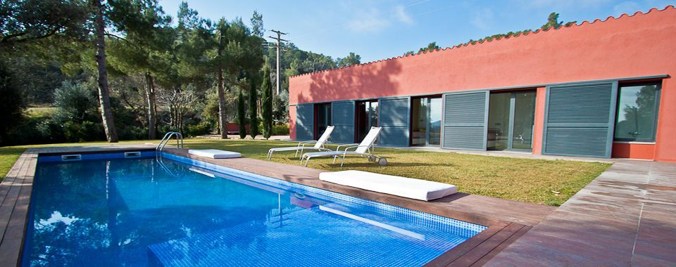 Can Burjats House With Swimming Pool Homeaway Mont Ras