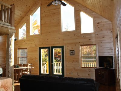 Photo for Eagle Hill Cabins - Beautiful Cabin with mountain views!!
