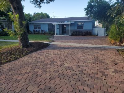 Photo for 1.6 miles from beach! Close to shopping, restaurants, parks and airports.