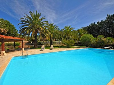 Photo for Villa in Marina Di Campo with 5 bedrooms sleeps 10