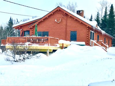 Photo for SECLUDED 27 ACRE PROPERTY!! -Direct Snowmobile Trail Access!!