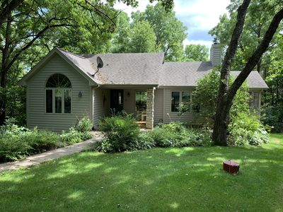 Photo for Secluded Getaway ~ 3 BD/3.5 BA ~ Pool Table - Outdoor Hot Tub