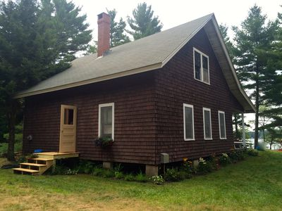 Photo for Charming lakefront cabin close to Acadia National Park