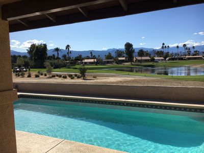 Photo for Palm Desert Fairway Home with Private Pool