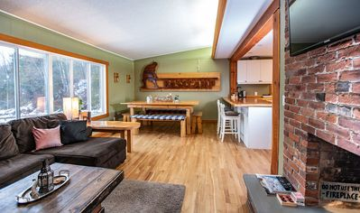 Photo for Basecamp Cabin: A Skier's Dream! Private, Outdoor Hot Tub, Mountain Views