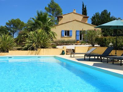 Photo for Holiday house with pool, quiet and beautiful view