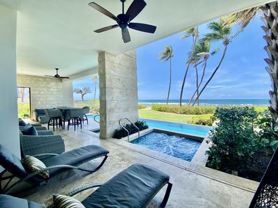Photo for REDUCED RATES!  West Beach Ground-Floor Residence With Private Pool