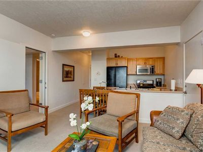Photo for Right by Lake & Deer Valley Gondola! Top Floor, Mtn Views, Pool & 3 Hot Tubs!