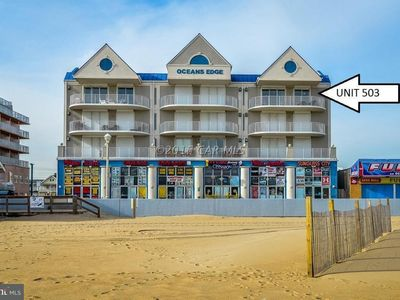 Photo for Beautiful Large Luxury Ocean Front on the Boardwalk Amazing Views Newer Building