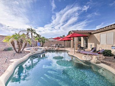 Photo for NEW! Peoria House w/Tropical Backyard+Private Pool