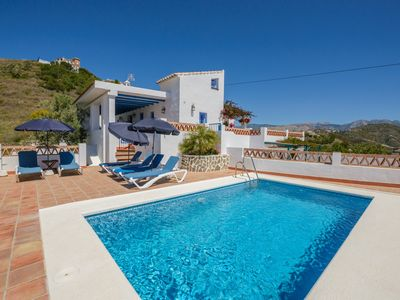 Photo for Picturesque villa with stunning sea views