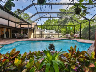 Photo for New Listing! Beautiful Pool Home with Spa, Outdoor Shower - 5 min to Upscale Shopping, Dining & Golf