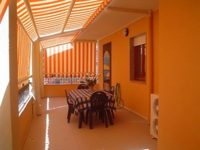 Photo for Nice, large, quiet 2 bedroom apartment next to Algheros beach