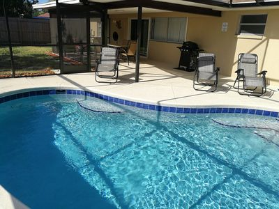 Photo for *NEW* 3BR Vacation Heated Pool Home, Bradenton, 6mil. To Anna Maria Beaches