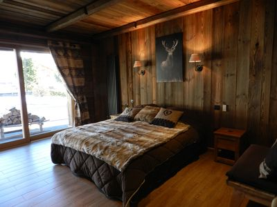 Photo for 4-star comfortable chalet for 18 people; 7 bedrooms, 7 bathrooms with WC