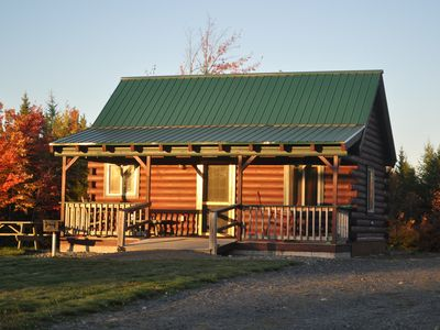 Photo for Modern cabin, large interior space, wheelchair ramp, sleeps 6.