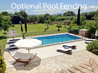 Photo for Extensive Private Grounds / Lawn / 11x5m Heated Pool / Sky, PS4 with VR / Bikes