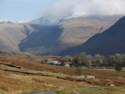 Photo for Scafell View Apartment, Wasdale, The Lake District