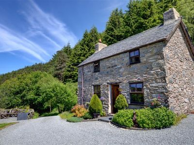 Photo for In one of the most lovely parts of Snowdonia National Park near Llanrwst is Ochr y Foel a detached r
