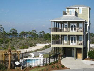 Photo for No Major Damage from Michael.  Ready for Summer.  Heated pool/Steps to beach