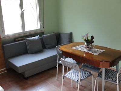 Photo for Independent apartment with a small garden with gazebo 10 minutes from the sea