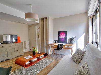 """Photo for Cozy studio """"Marty"""" in the center of Cannes / Near beaches, Palais and Croisette"""