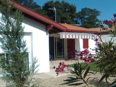 Photo for holiday cottage near the sea and hossegor,  SW france coast with garden terrace