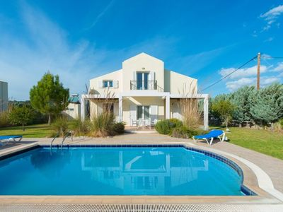 Photo for 3 bedroom Villa, sleeps 6 in Archangelos with Pool, Air Con and WiFi