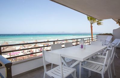 Photo for Apartamento en frente de la Playa de Alcudia.