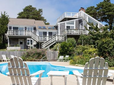 Photo for 5 BR/4 bath w/heated pool .2 miles to Nauset Beach