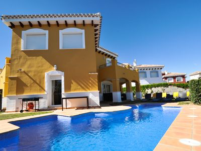 Photo for Family Friendly Frontline Villa With Private Swimming Pool