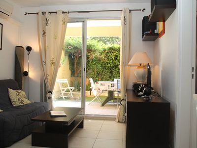 Photo for Saint Raphaël Boulouris Nice 2 rooms close to the sea