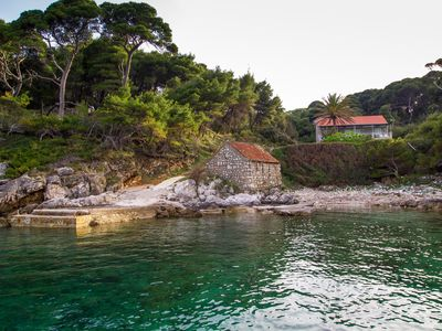 Photo for Villa Kolocep 2 - 20min with boat from Dubrovnik, 20m far from beach